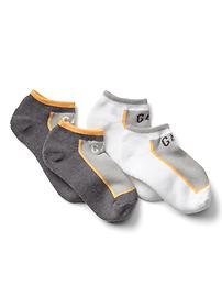 Chaussettes de sport très basses CoolmaxMD (paquet de 2paires)