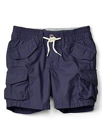 Poplin beachcomber shorts