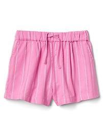 Shimmer stripe dobby shorts