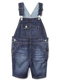 1969 denim short overalls