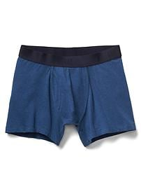 "Solid 4"" boxer briefs"