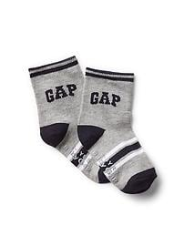 Athletic logo socks