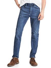 Technical slim 6-pocket jeans