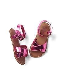 Shine crisscross sandals