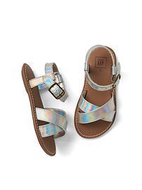 Sandales à brides croisées Collection Shine