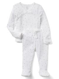 Favorite star long sleeve kimono set