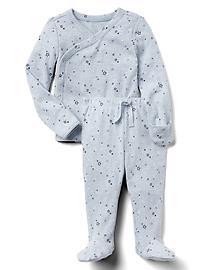 Favorite starry long sleeve kimono set