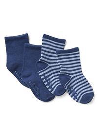 Favorite stripe socks (2-pairs)