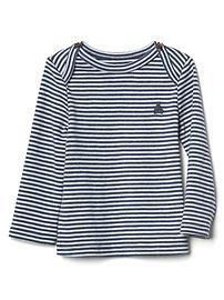 Favorite stripe long sleeve tee