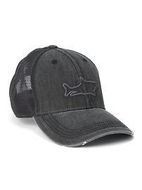 Mesh patch baseball hat