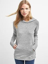 Softspun knit pullover hoodie