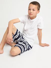 Short de pyjama à imprimé