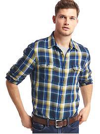 Gap + Pendleton flannel shirt