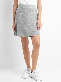 Softspun crossover skirt