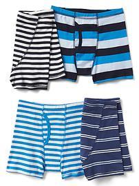 Shorts de bain à rayures (paquet de4)