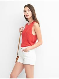 Pull-camisole à lacets