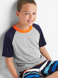 T-shirt de pyjama de baseball