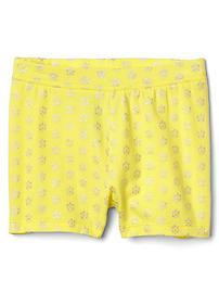 Stretch jersey cartwheel shorts