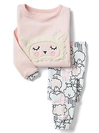 Cozy sheep sleep set