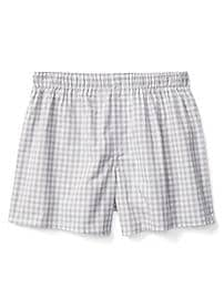 "Gingham 4.5"" boxers"