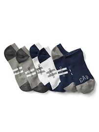 Chaussettes ultra basses à rayures