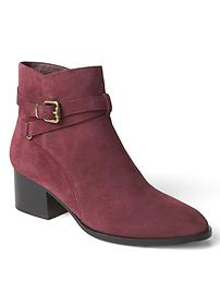Strappy short booties
