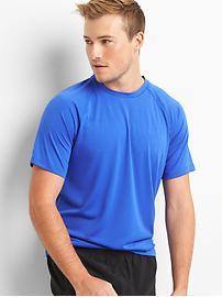 T-shirt ras du cou raglan Aeromesh