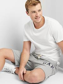 French terry logo shorts