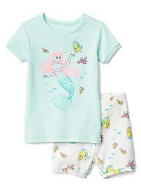 Pyjama court à imprimé Ariel babyGap Disney Baby