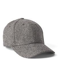 Herringbone baseball hat