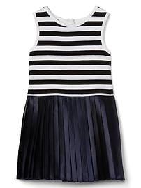 Tank pleat dress