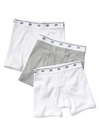 Solid boxer briefs (3-pack)