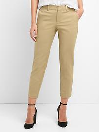 Slim crop pants