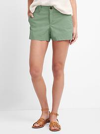 Twill summer shorts