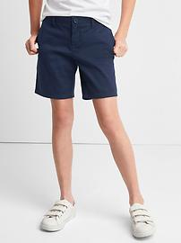 Uniform Midi Shorts
