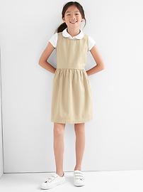 Uniform twill dress