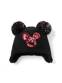 GapKids &#124 Disney Mickey Mouse sequin pom-pom hat