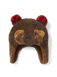 Pro Fleece bear trapper hat