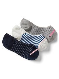 No-show socks (3-pair)