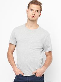 T-shirt ras du cou indispensable à manches courtes