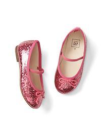 Chaussures Mary Jane à paillettes