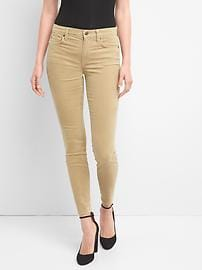 Pantalon en velours côtelé à taille basse, coupe vraiment moulante