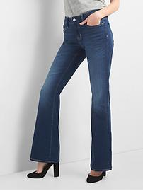 Jean long et amincissant taille moyenne basse