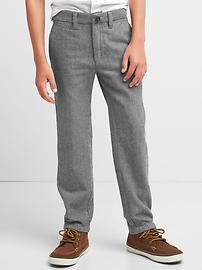 Pantalon à chevrons