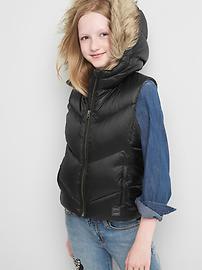 Warmest down puffer vest