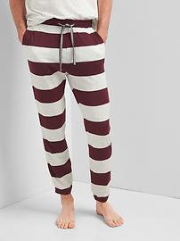 Double-face lounge pants