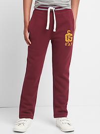 Athletic logo fleece sweats