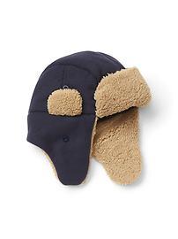 Pro Fleece cozy trapper hat