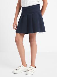 Uniform Pleated Skirt