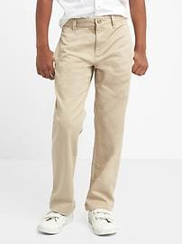 Uniform action stretch relaxed pants